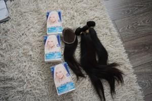 Hyena Empire peruvian hair /Garnier nutrisse truly blonde Värinpoisto