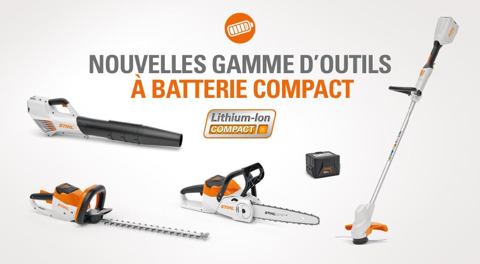 """Gamme d'outils à batterie STIHL """"compact"""""""