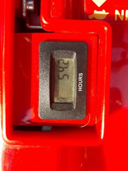 Tondeuse autoportée Gianni Ferrari GTR 200 Compteur Horaire