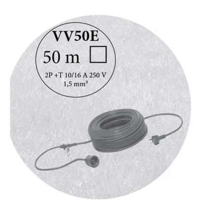 Câble longueur 50m - réf.VV50E - ETESIA