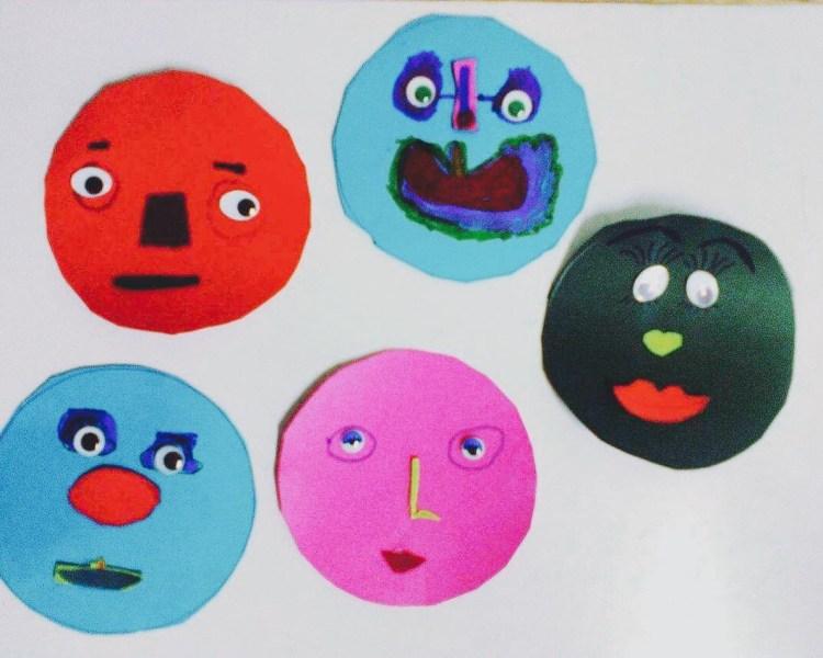 Pre Junior: Teaching parts of the face (Agia Paraskevi)