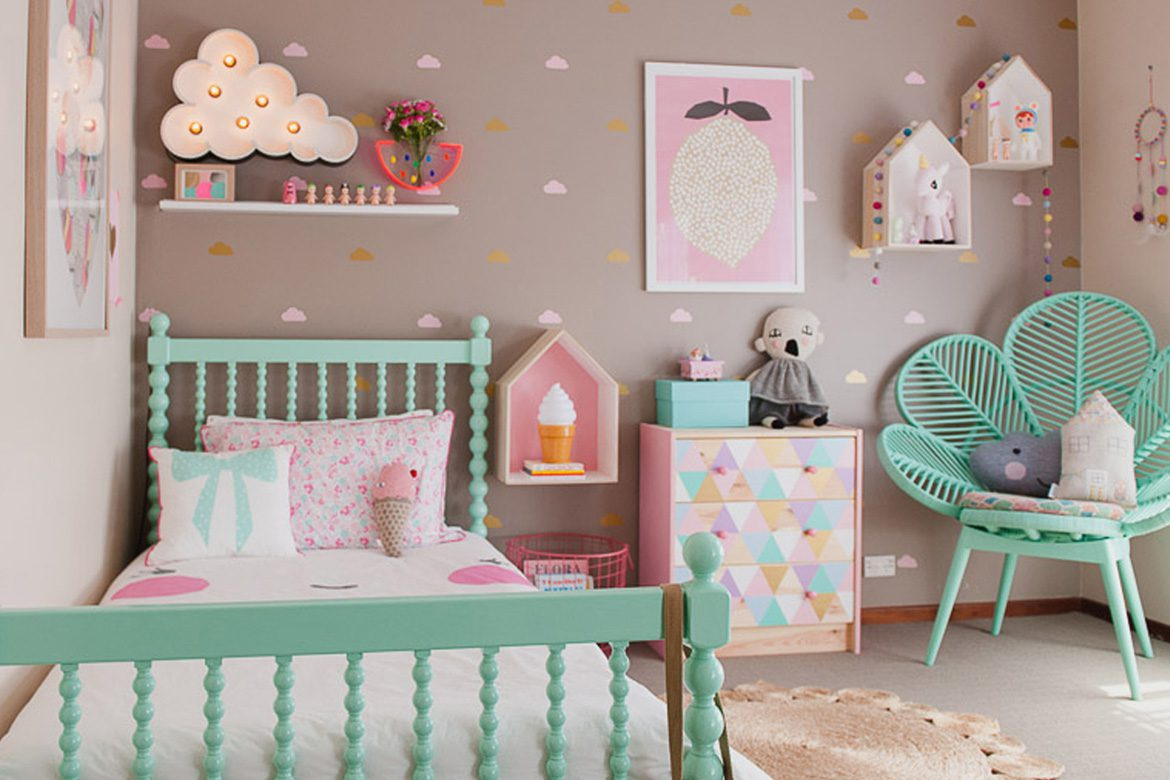 48 Kids Room Ideas that would make you wish you were a ... on Cheap Bedroom Ideas For Small Rooms  id=30412