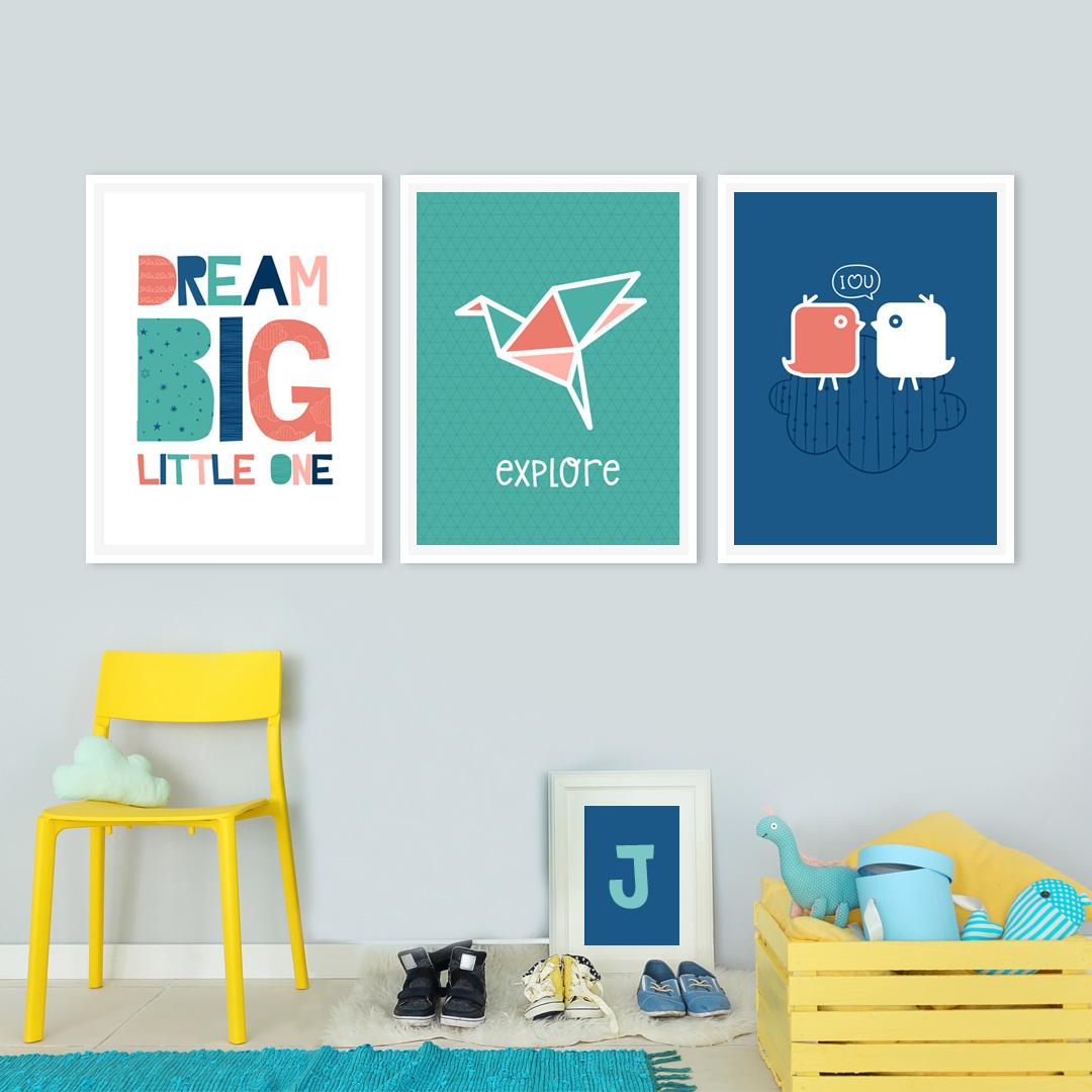 Colorful Kids Room Printables