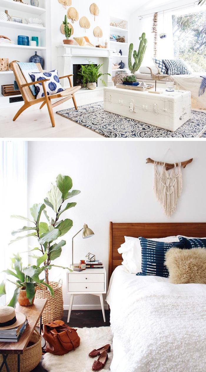 Get the boho chic look - 32 bohemian interior design ideas ... on Boho Modern Decor  id=90163