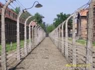 수용소 철책의 일부 (Auschwitz I)