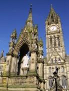 Albert Memorial, Manchester Town Hall