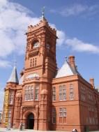 Pierhead Building 석탄 수출 전성기 때 본부였는데 지금은 웨일즈 국회에 관한 모든 걸 알려준다