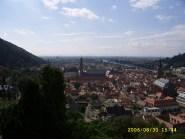 Heidelberg from Schloss