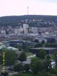 Stuttgarter Fernsehturm from Bahnhofsturm