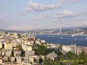 Boğaziçi Köprüsü from Galata Kulesi