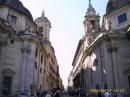Via del Corso from Piazza del Popolo
