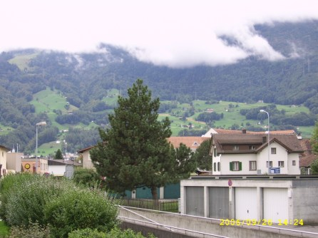 Sargans from station