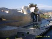 Museo Guggenheim Bilbao from Puente Príncipes de España