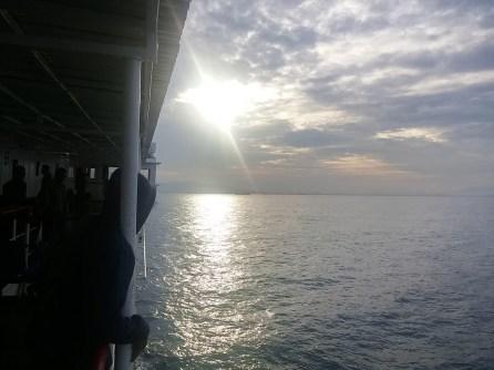 sunrise over Jawa
