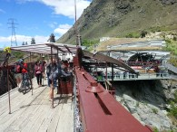 the world's first commercial bungy jumping site