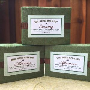 Packaging for Organic Soaps
