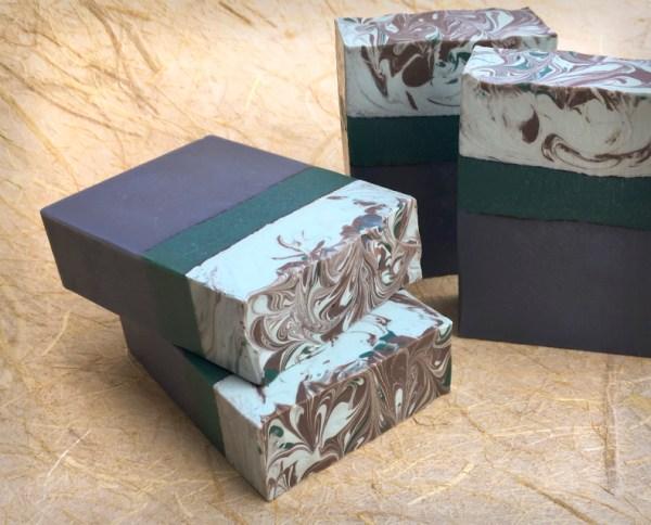 Twilight Woods group of soap bars