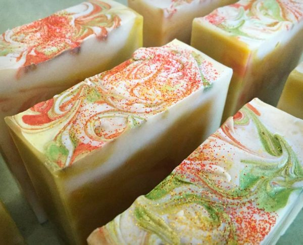 Pear & Honey Soap