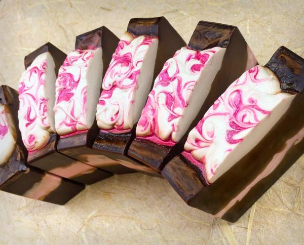 Blushing Hot Cocoa Soaps