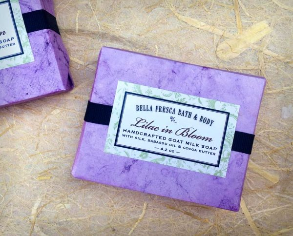Lilac in Bloom Soap Package