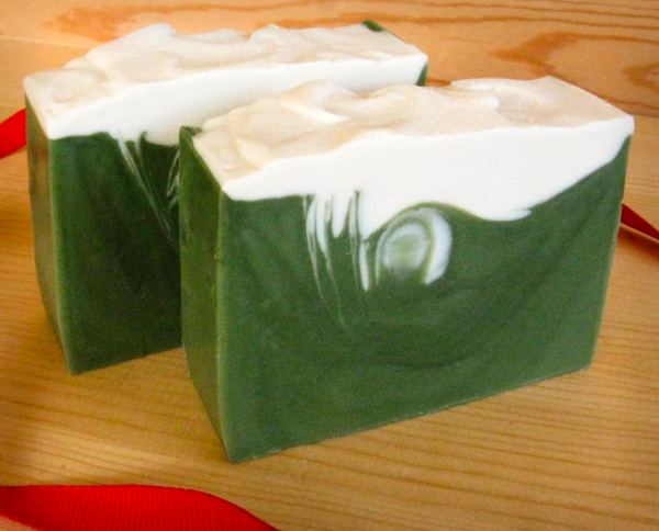 Snowy Forest Soaps