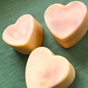 Orange Heart Brine Soap