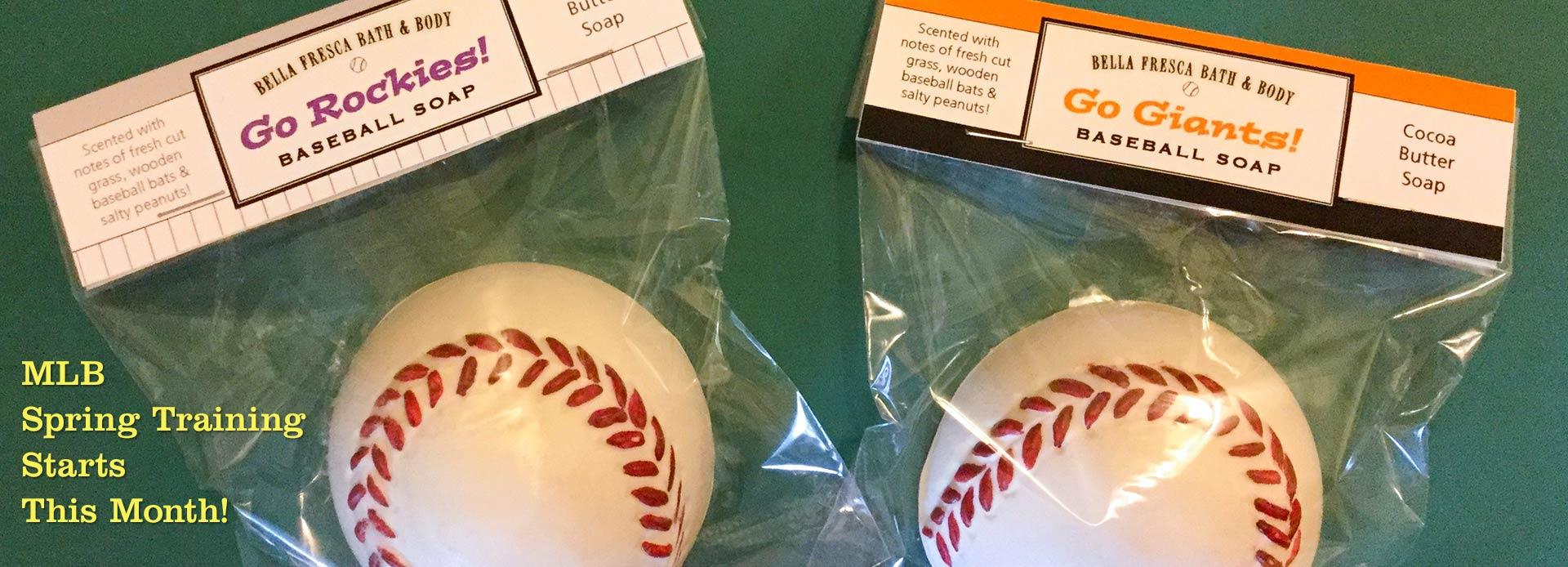 Baseball Soaps