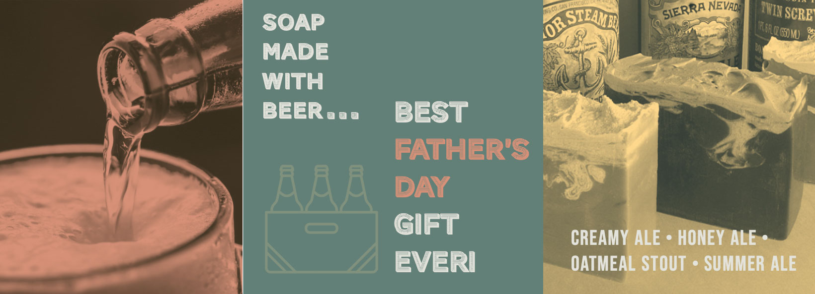 Beer Soap for Father's Day