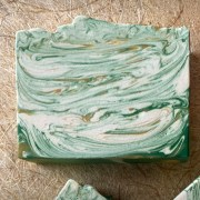 Orange Spruce Oatmeal Soap