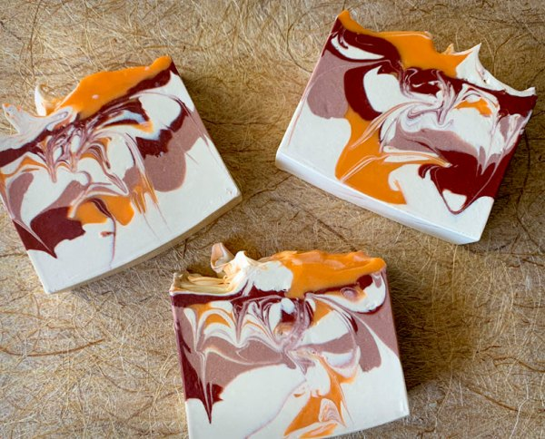 Cranberry Clementine Coconut Milk Soap
