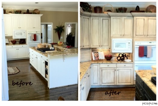 David Bradley Cabinet Before And After Sl Stove Hood Kitchen Painting