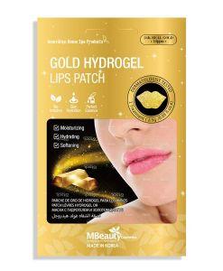 Zlatna maska za usne sa hidrogelom