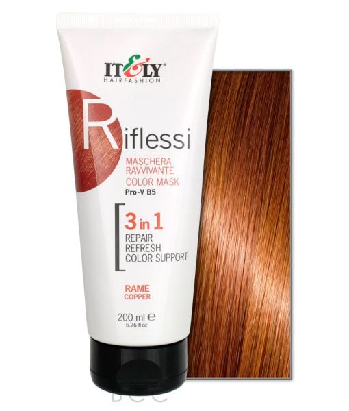 Itely Hairfashion Riflessi bakarna maska za kosu