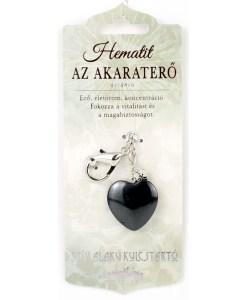 Hematit kristal u obliku srca