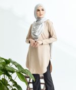 Lily Long Top Nude