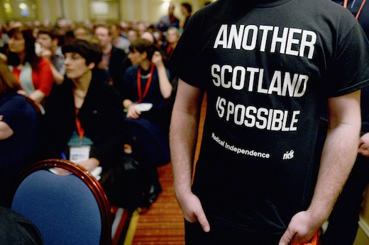 Radical Independence Conference Gather In Glasgow