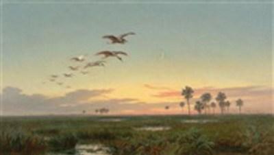 Paysage en Amerique du Sud (South American Landscape).