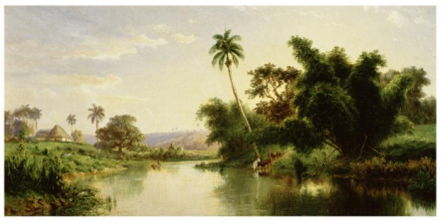 Paisaje, Landscape by Esteban Chartrand