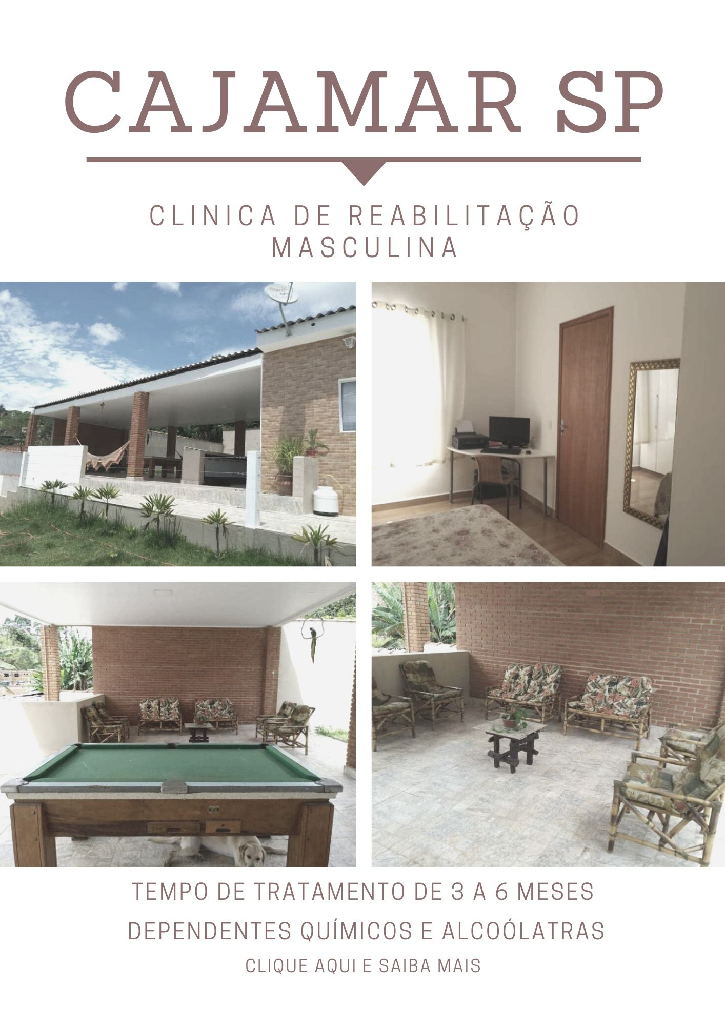 clinica para alcoólatras em SP
