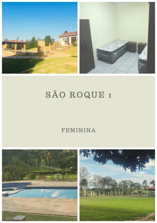 Clinica de recuperação em SP - Unidade São Roque I - Feminina