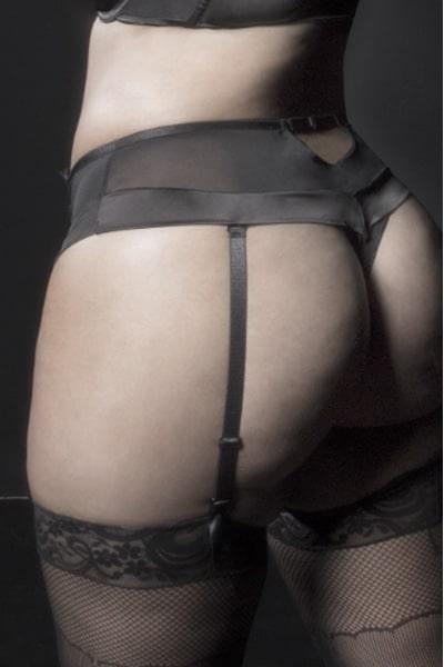 Retro plus size highwaist panty