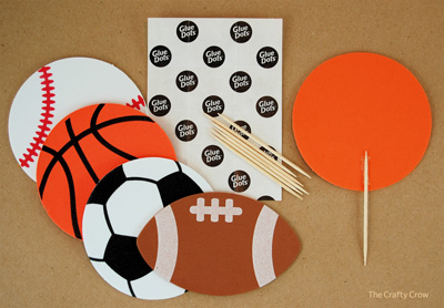 Easy Sports Party Decorations Amp Favors Things To Make