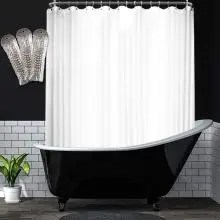 5 best shower curtains for clawfoot tub