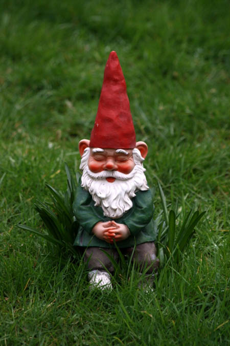Gnome Garden: 5 Ways To Add Curb Appeal...Or How To Camouflage An Ugly