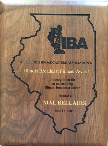IBA Award to Mal