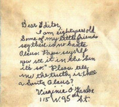 virginas letter