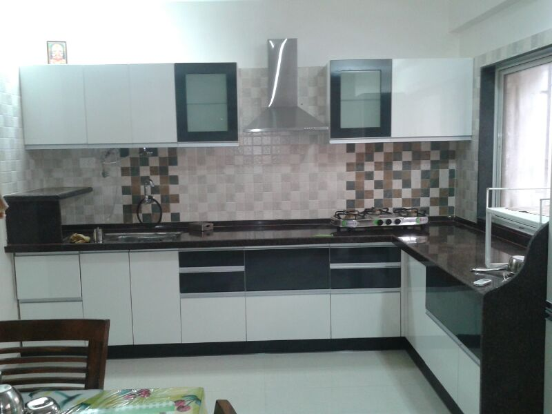 Indian Modular Kitchen Design U Shape