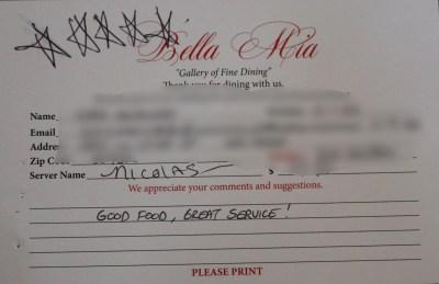 Bella Mia Fine Dining_3971