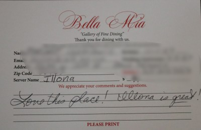 Bella Mia Fine Dining_3986
