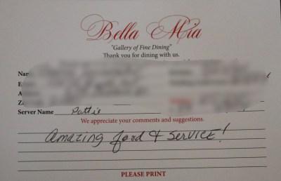 Bella Mia Fine Dining_3997